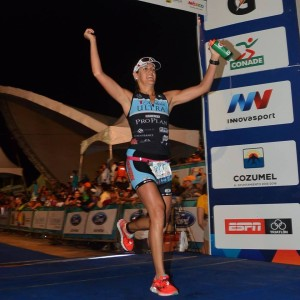 Dr. Lauren FINISHING IM Cozumel